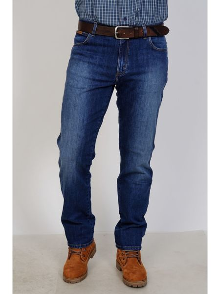 -P!-Дж.муж ВС WRANGLER W121-08-56B TEXAS regular fit мави родео